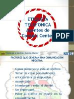 Etiqueta Telefonica
