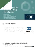 Declaraciones de Impuestos (SAT) Por Internet