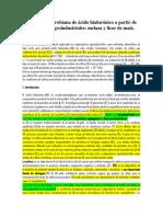 Producción Microbiana de Ácido Hialurónico a Partir de Subproductos Agroindustriales