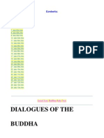 Dialogues of Buddha
