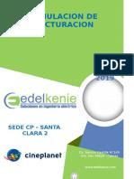 Informe Simulacion Tarifa - Santa Clara II 2019