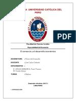 Trabajo Final. Comercio Internacional y Desarrollo Economico