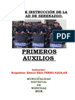 Brigadas de Defensa Civil. Manual