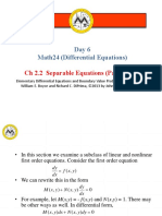 06.2.2 - Separable Equations