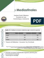 Masas mediastinales y anestesia