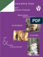 Product Stewardship Code Manual