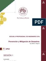 Prevención y Mitigación de Desastres 01