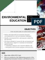 Environmental Education Lesson Proper