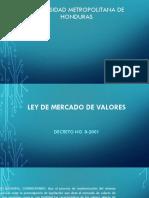 Ley Mercado de Valores