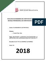 Planeamiento Estrategico - Abel Escate - Foro7