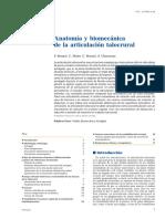Anatomia y Biomecanica de La Articulacion Talocrural