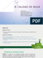 Modelos de Calidad de Agua