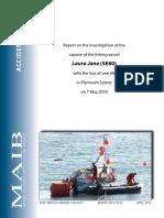 2019 - 5 - Laura Jane Capsize Fishing Vessel