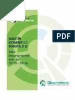 Boletin Bogotá, D.C. Junio 2018