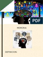Memoria y Pensamiento Clase
