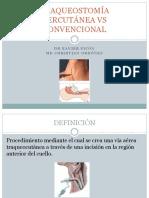 Traqueostomía Percutánea vs Convencional Borrador (1)