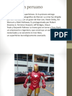 Iron Man Peruano