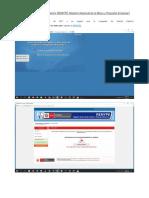 Cómo Imprimir La Acreditación REMYPE Registro Nacional de La Micro y Pequeña Empresa
