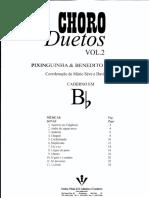 Choro Duetos - Pixinguinha e Benedito Lacerda - V. 2 - Bb