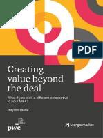 PwC M&a Value Creation