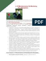 Preparando 10 Mandamientos De Marketing Para.docx