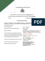 Wpp o&m Draft Tender Document 07.03.2019