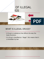 Use of Illegal Drugs