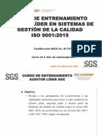 3. Auditor Lider IRCA ISO 9001.2015