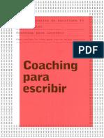 Coaching para escribir