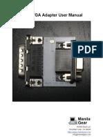 Apple IIGS VGA Adapter User Manual v1.00
