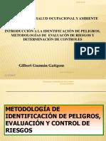 Introducción a La Identificación de Peligros, Metodologias de Evaluación y Control de Riesgos