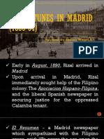 Misfortunes in Madrid Prepared by Hermo Meriel