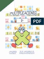 Cuaderno de La Multiplicación