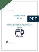 FinDestination Profile