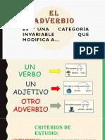 Adverbio y Pronombre