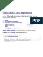 Bearing Capacity Problem Example 7 _ Foundation of Civil Engineering