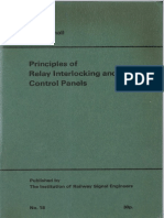 Institution of Railway Signal Engineers (IRSE), Green Book No.18 Principles of Relay Interlocking and Control Panels 1961 Reprint 1971