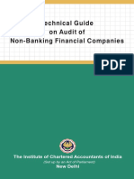 Technical Guide on Audit of Non Bank Finaniclas
