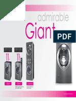 Lavadora LG Giant 11Kg