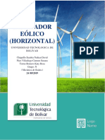 Mecanica de Fluidos-Diseño de Un Aerogenerador Eólico Horizontal-Corte 3-03-Chiquillo-Páez-Torres