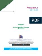 Academic Prospectus 2019 20