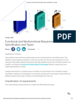Functional and Non-functional Requirements_ Specification and Types