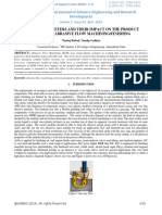 Process Parameters and Their Impact on the Product Quality in Abrasive Flow Machining-Finishing-IJAERDV05I0436361