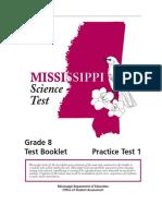 Grade 8 Practice Test Set 1