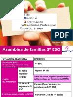 Orientación Académico-profesional PADRES 3º ESO