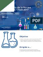 Norma NTC ISO 17025 Cambios Nueva Version 2017