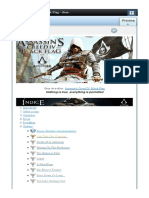 Assassin's Creed IV Black Flag - Guia de Troféus - Guia de Troféus PS4 - GUIAS OFICIAIS - MyPSt