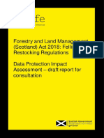Forestry Regulation Impact Assesment