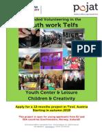 Volunteer Call Telfs Austria2019