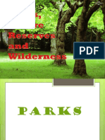 Parks, Nature Reserves and Wilderness.pptx